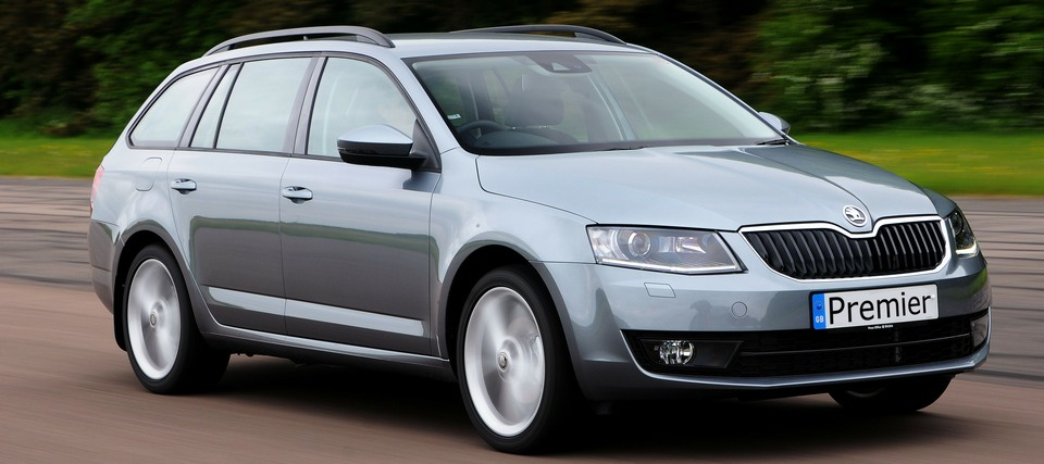 Premier Taxis Crieff photo of Skoda Octavia